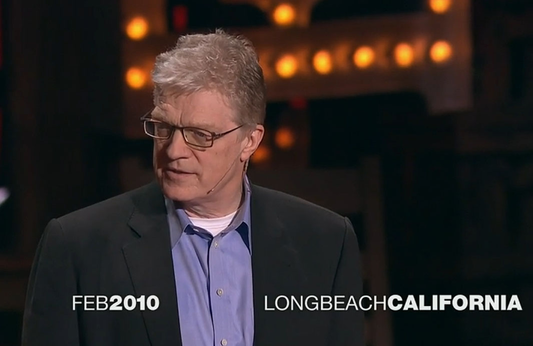 ken robinson ted discuss summary
